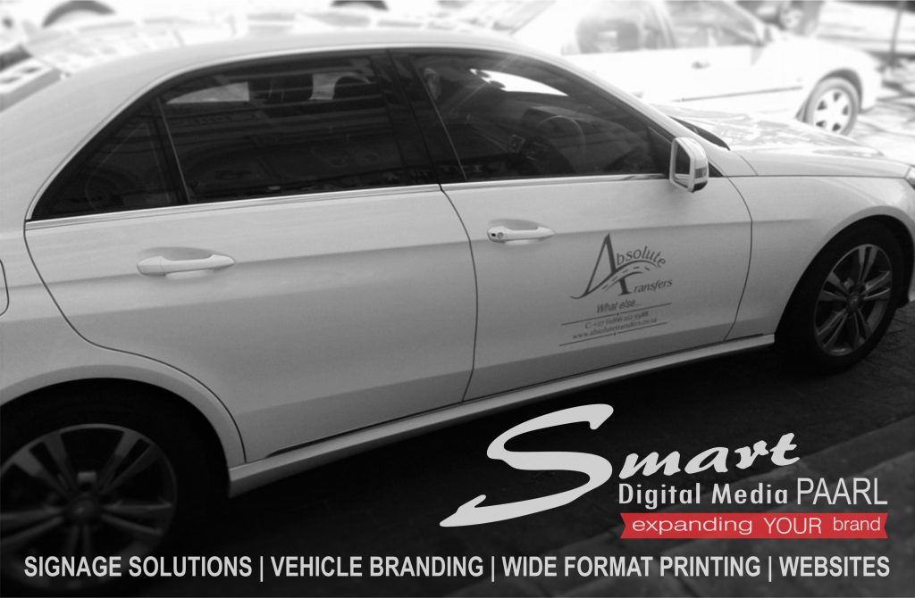 Vehicle Branding of Mercedes Benz By Smart Digital Media